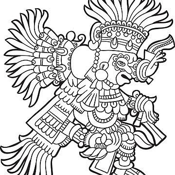 Inca Maya Aztec deity 2 by Smaragdas