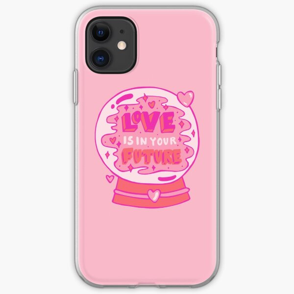 Love is in your future iPhone Soft Case