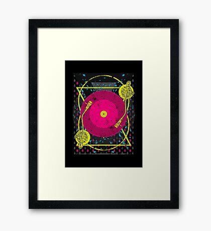 StereoMix Framed Print