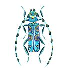 Mosaic Beetle by Emilie Otto
