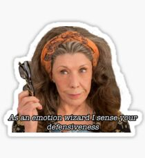 As an emotion wizard I sense your defensiveness Sticker