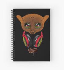 DJ Tarsier Spiral Notebook