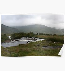 River Bend on the Isle of Mull Poster