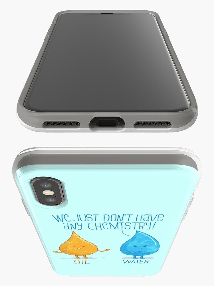 Alternate view of No Chemistry iPhone Case & Cover