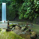 Tibumana Waterfall, Ubud, Bali by Bobby McLeod