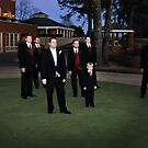 Groom and Groomsmen in Memphis, TN by Kevin Price