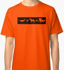 Narwhal + Horse = Unicorn Classic T-Shirt