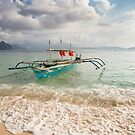 Elnido, Palawan, Philippines -Island Tour Boat by Bobby McLeod