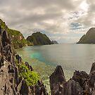 Elnido, Palawan, Philippines - Bay Panorama by Bobby McLeod
