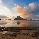 Elnido, Palawan, Philippines - Sunset by Bobby McLeod