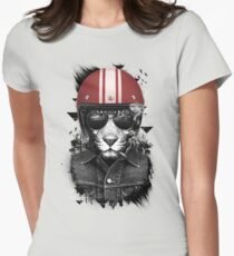Jungle Rider Womens Fitted T-Shirt