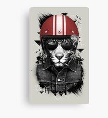 Jungle Rider Canvas Print
