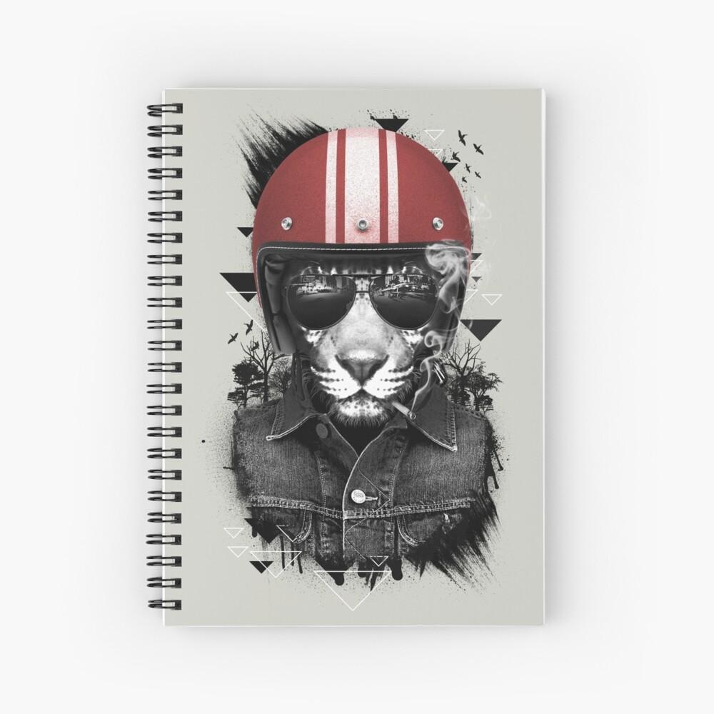 Jungle Rider Spiral Notebook