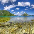 Elnido, Palawan, Philippines - Elnido Pano Sunny Day by Bobby McLeod