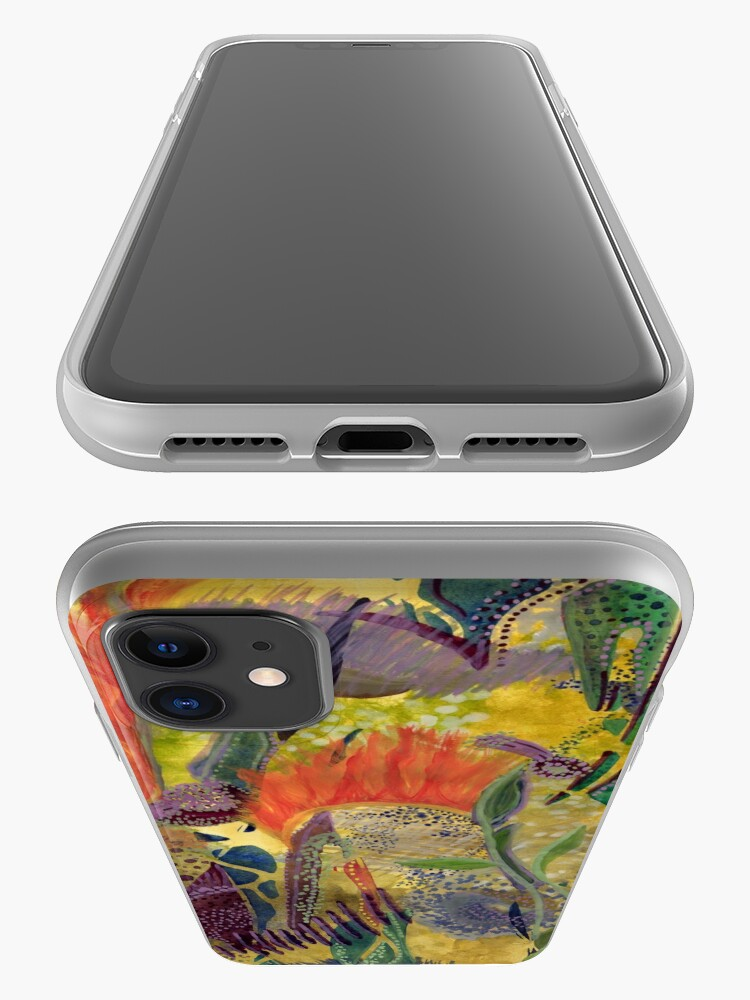 Alternate view of Fire in the Water iPhone Case & Cover