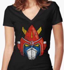 V-Head Women's Fitted V-Neck T-Shirt