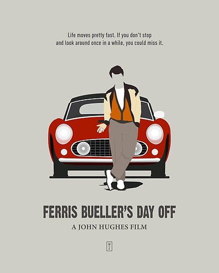 Ferris Bueller's Day Off by Part Studio