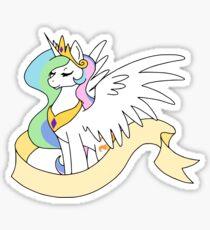Princess Sun Butt - Plain Banner Version Sticker