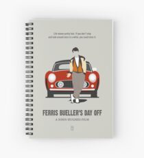 Ferris Bueller's Day Off Spiral Notebook