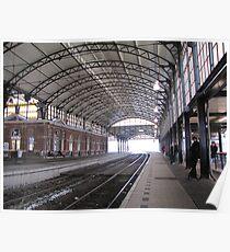 Railway station 'Holland Spoor' II Poster