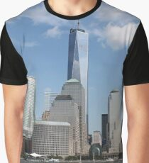 #Architecture, #Skyscraper, #City, #Cityscape, #Water, #Sky, #Tower, #UrbanSkyline Graphic T-Shirt