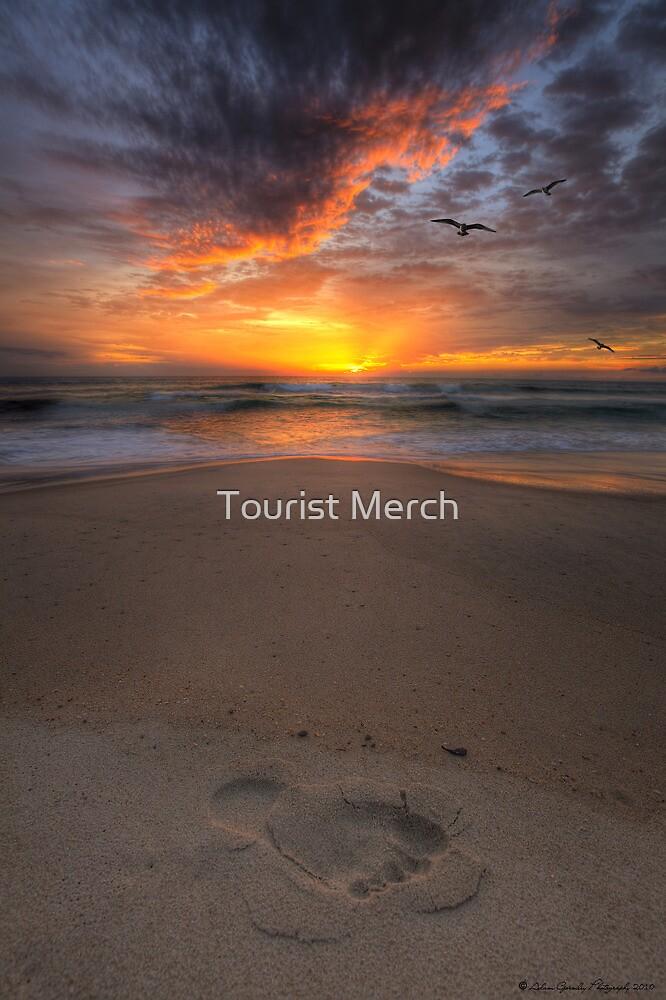 Sunshine Beach Footprint by Adam Gormley