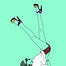 Legs in the air by Emilie Otto