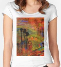 Admiring God's Handiwork I Women's Fitted Scoop T-Shirt