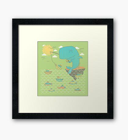 Gone Shipping Framed Print