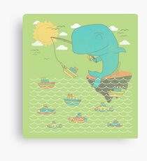 Gone Shipping Canvas Print