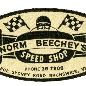 Stormin' Norm Beecheys Speed Shop Australia  by taspaul