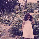 an angel in the garden by Angel Warda