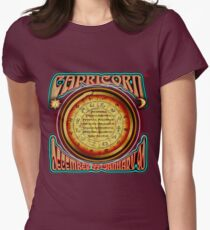 ASTROLOGY = CAPRICORN Womens Fitted T-Shirt