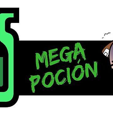 Monster Hunter Mega Potion by Aherom