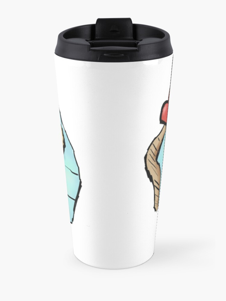 Alternate view of Cute Swimming Platypus in Australia Travel Mug