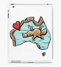Cute Swimming Platypus in Australia iPad Case/Skin