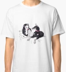 Doberman and PinUp Classic T-Shirt