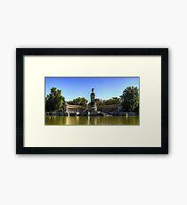 Lámina enmarcada Monumento a Alfonso XII