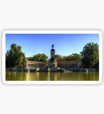 Pegatina Monumento a Alfonso XII