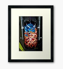 amazing air brush work Framed Print