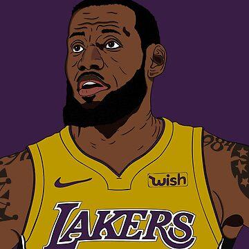 Lebron James Lakers by Dalem-12