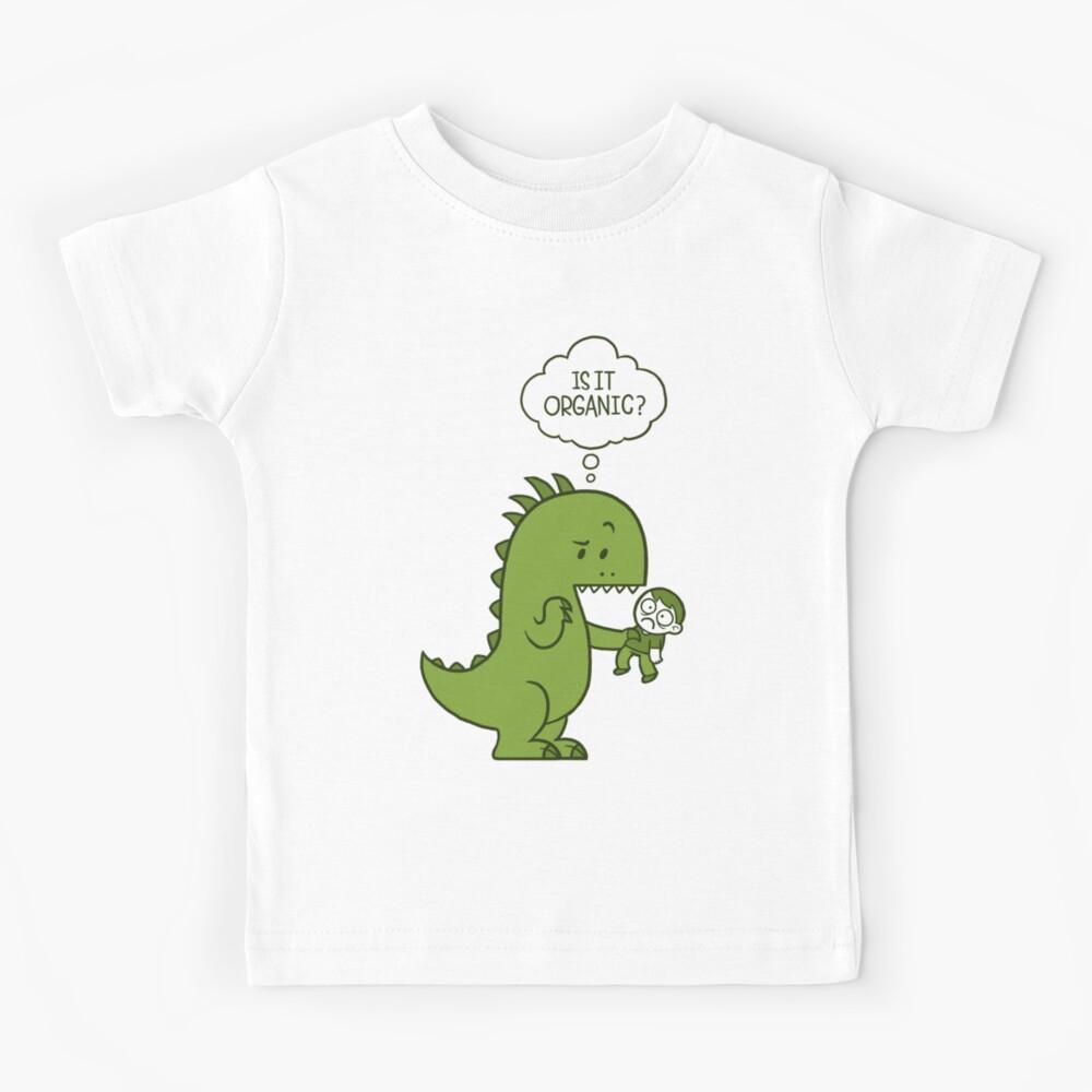Organic Dinosaur Kids T-Shirt