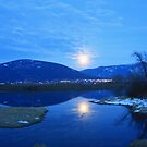 Full Moon on the River by Magnum1975
