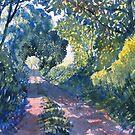 Hockney Trail Tunnel of Trees by Glenn Marshall