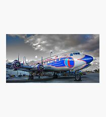 Eastern Airlines DC-7B Photographic Print