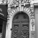Paris Doorway by Sherry Freeman