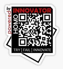 Homo Innovator | White Collection Sticker