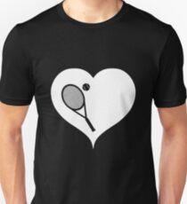 Tennis Schläger Ball Unisex T-Shirt