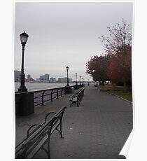 Riverside walk Poster