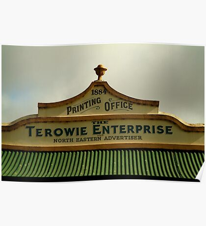 Elements of Terowie, South Australia Poster